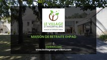 Le Village d'Angervilliers, maison de retraite médicalisée (EHPAD) à Angervilliers.