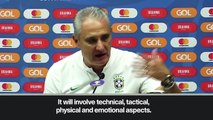 (Subtitled) 'Both teams deserve to win' – Tite ahead Copa America final against Peru
