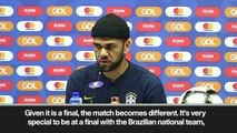 (Subtitled) 'We must have respect for them' – Dani Alves ahead the Copa America final against Peru