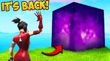 THE CUBE HAS RETURNED!! - Fortnite Funny Fails and WTF Moments!