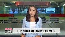 Seoul, Washington's top nuclear envoys to discuss final , fully verified denuclearization of N. Korea