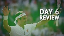 Day 6 Review - Federer, Nadal continue collision course