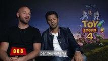 Toy Story 4 Film - Les voix françaises racontent le film