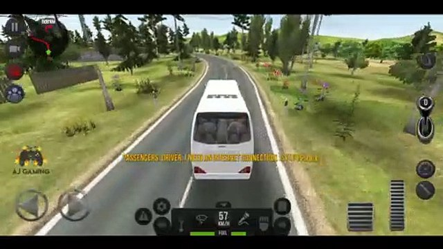 Bus Simulator : Ultimate Gameplay #1 | Android Gameplay | AJ GAMING