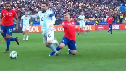 Argentina vs Chile 2-1 Highlights & All Goals (06/07/2019)