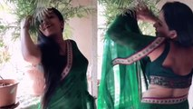 Monalisa is back with her killer dance moves in saree ; Check out video | Boldsky
