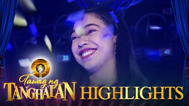 Mariane Osabel defends the golden microphone   Tawag ng Tanghalan