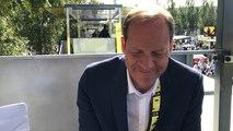 Christian Prudhomme sur la capacité de Julian Alaphilippe à garder le maillot jaune