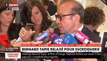 """Bernard Tapie relaxé : """"Une immense satisfaction et une grande libération"""" , déclare son avocat Hervé Témime à la sortie de l'audience"""
