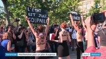 Féminicide : manifestation pour un plan d'urgence