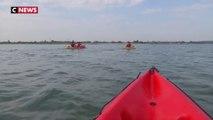 Arcachon : le kayak de mer séduit les vacanciers