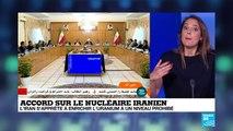 """Nucléaire iranien : les Iraniens """"ne quittent pas l'accord"""""""