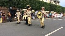 La parade des nations de la 24e édition des Folklores du Monde