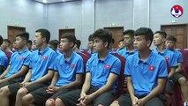 Lãnh đạo VFF thăm và động viên hai đội tuyển U15 và U18 Quốc gia | VFF Channel