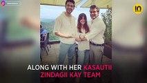 Ekta Kapoor credits the downpour for making Karan Singh Grover's Mr Bajaj look young