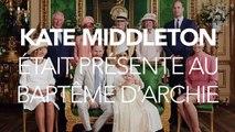 Baptême d'Archie : Kate Middleton rayonnante à la cérémonie avec un look osé