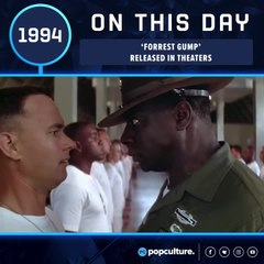 FORREST GUMP Ran into Theaters (July 6, 1994)