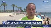 Un enfant de 10 ans foudroyé sur la Côte d'Azur