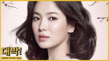 """Song Hye Kyo accepted new drama """"Hyena"""" but suddenly taken down offer"""