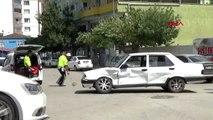 GAZİANTEP İslahiye'de trafik kazası 1 yaralı
