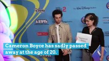 Cameron Boyce Passes Away at 20 Years Old