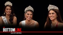 Bb. Pilipinas 2019 Queens discuss their answers during the pageant   The Bottomline