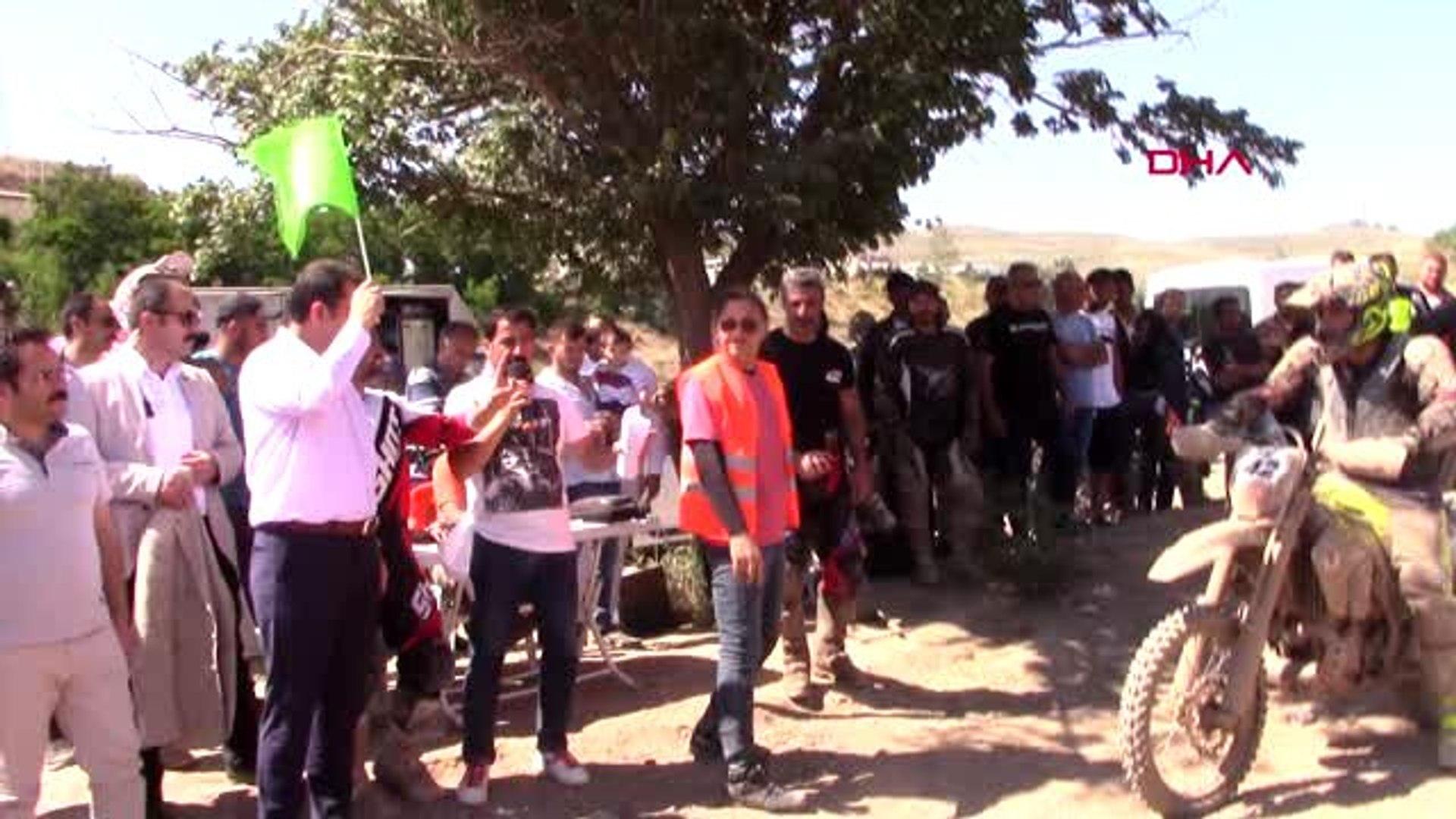 SPOR Sivas Süper Enduro Festivali'nde, final yarışları nefes kesti