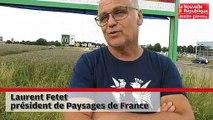 VIDEO. Poitiers :  des militants dénoncent des panneaux illégaux le long de la rocade