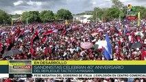 Nicaragua: Presidente Ortega destaca la defensa de la paz