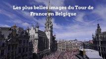 Les plus belles images du Tour de France en Belgique