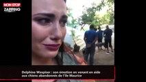 Delphine Wespiser : son émotion en venant en aide aux chiens abandonnés de l'île Maurice (vidéo)