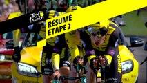 Résumé - Étape 2 - Tour de France 2019
