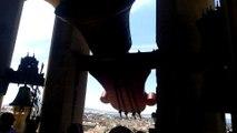 La campana más antigua de la Catedral de Pamplona recibe un homenaje por sus 500 años