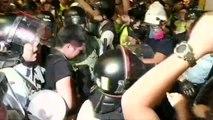 Erneut gewaltsame Proteste in Hongkong