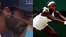 """Wimbledon 2019 - Jean-Christophe Faurel a retrouvé un sacré job : voilà 3 mois qu'il coache Cori Gauff"""""""