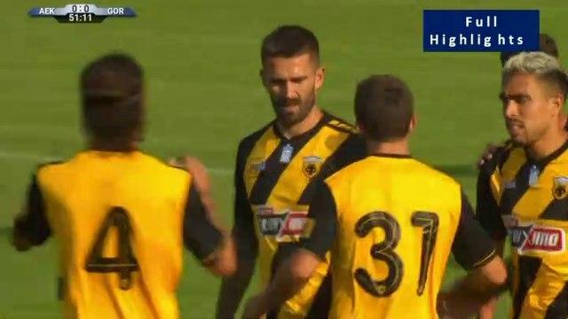 1-0 Marko Livaja Goal - AEK Athens FC 1-0Górnik Zabrze 07.07.2019