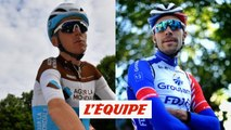 Entre Bardet et Pinot, un Français grimace et l'autre sourit - Cyclisme - Tour de France