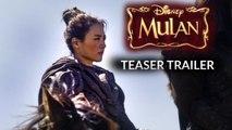 Mulan (2020) - Official teaser traier - Disney vost