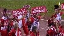 Tahiti : cérémonie d'ouverture Samoa
