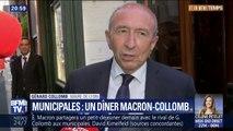 """Municipales à Lyon: """"Je pense que le président donnera son avis"""", indique Gérard Collomb"""