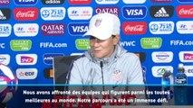 FOOTBALL : CdM (F) : Finale - Ellis : ''L'adversité est de plus en plus forte''