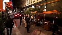Emmanuel Macron après son dîner avec Gérard Collomb