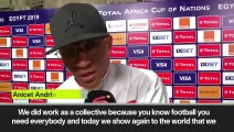 (Subtitled) 'We showed the world how good we are' Madagascar upset DR Congo at AFCON gp 16