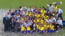 Copa America trophy presentation