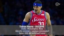 Confira as principais transações da NBA até o momento