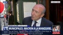 Municipales 2020: le Président rencontre Gérard Collomb et David Kimefeld, les deux prétendants LaREM à la mairie de Lyon