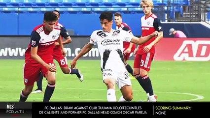 FC Dallas Draws Club Tijuana 0-0