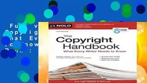 Full version  The Copyright Handbook: What Every Writer Needs to Know  Best Sellers Rank : #2