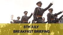 Police security cash row | Kobia on cutting wage bill| Uhuru mourns Kadenge: Your Breakfast Briefing