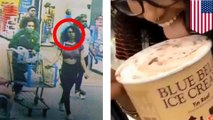 Woman who licks ice creamfaces up to 20 years in prison